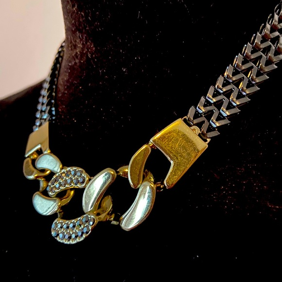 3/30$ chain and link necklace